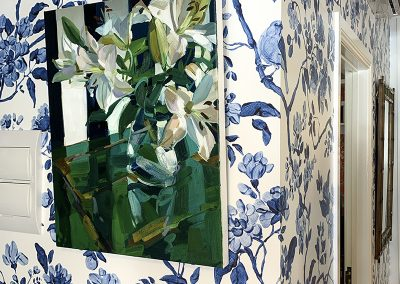 Chinoiserie Brushstroke col blue