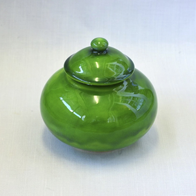 Emerald Lidded Trinket