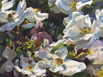 Rosendal - oil on canvas - 2018 - 750 x 1000mm $2100