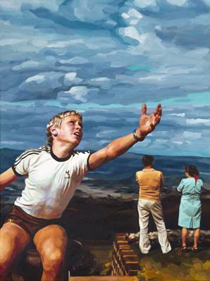 The Reach - oil on canvas - 2016 - 1210 x 910mm