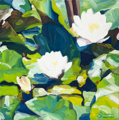 Water Lily Garden $550