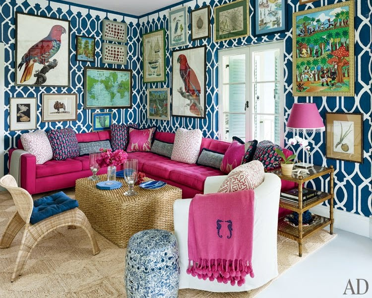 Eclectic Interior Design Done Right: 8 tips on how to create your own symphony of texture and colour AND avoid a hodgepodge mess.